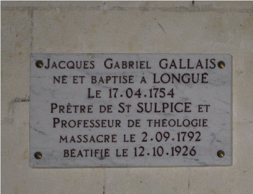 Plaque JG Gallais